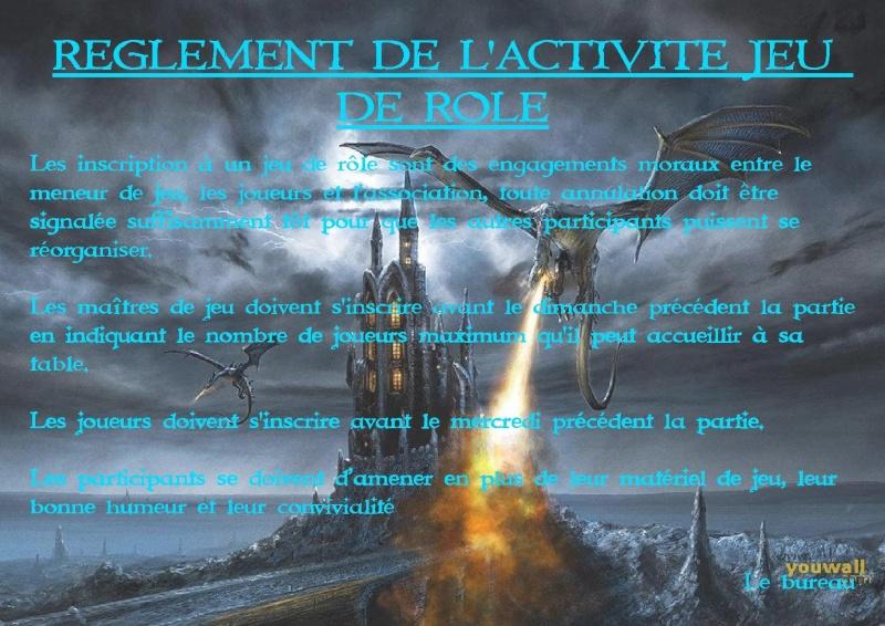 Règlements : Jeu de plateau & jeu de rôle Raglem11