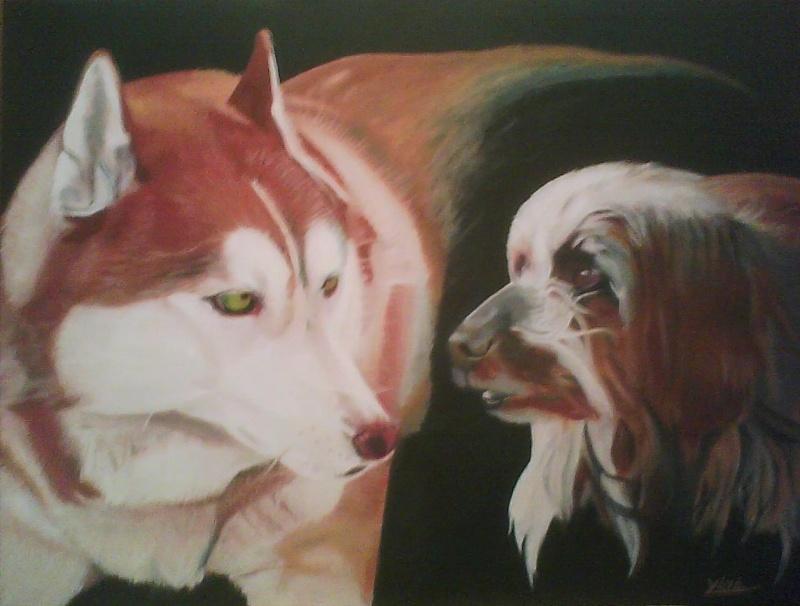 Peintre animalier Valdo_10