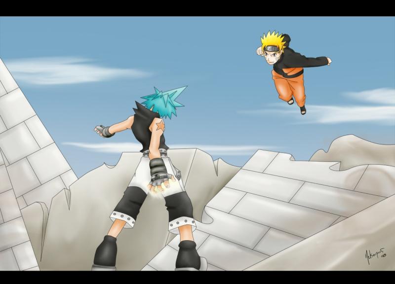BLACK STAR vs NARUTO Naruto10