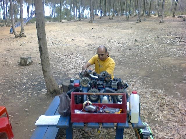 TMaxx à la forêt de Bainem 212