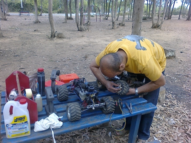 TMaxx à la forêt de Bainem 310