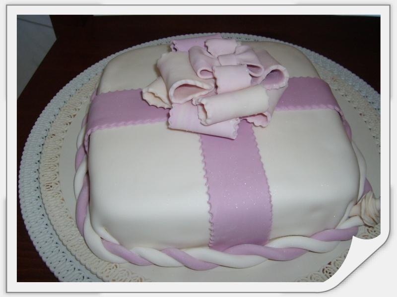 torta borsa piu torta pacco regalo S5007110