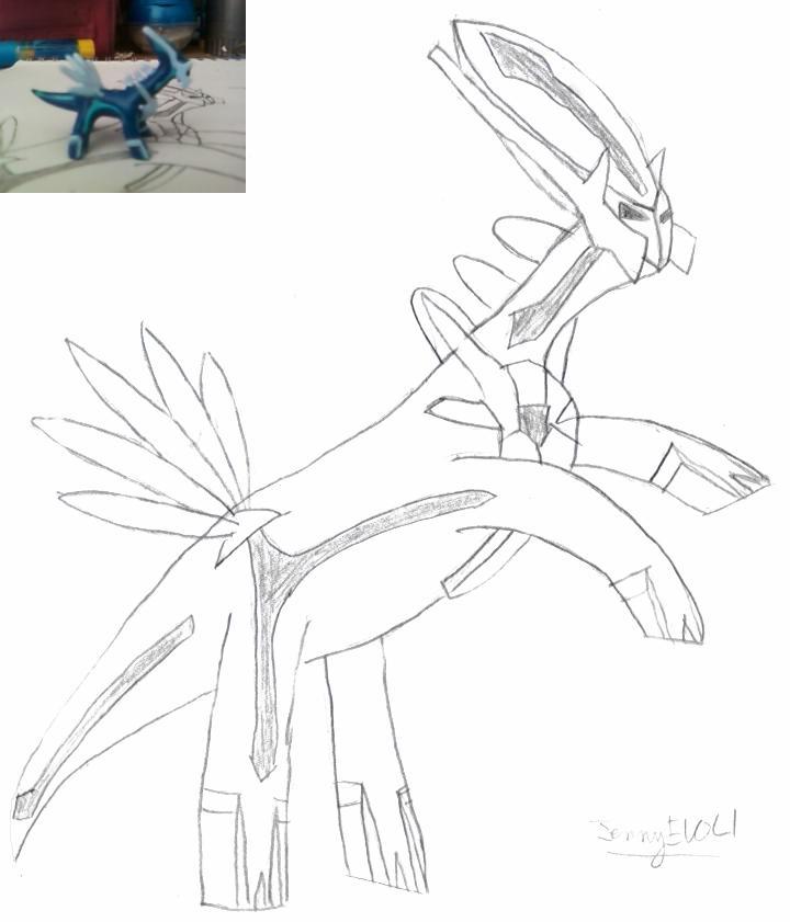 ^v^ Ma galerie de dessins sur papiers  Dialga10