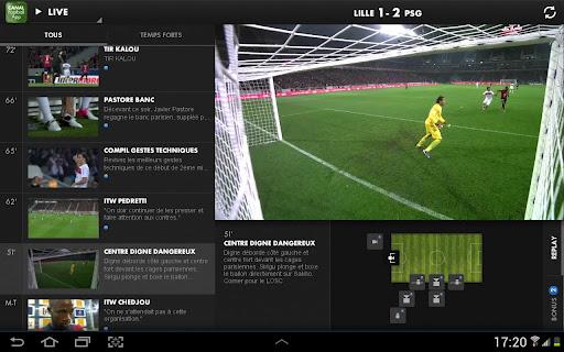 [SOFT] CANAL FOOTBALL APP : Vivez une expérience unique grâce à l'application second écran Canal Football App [Gratuit] A13