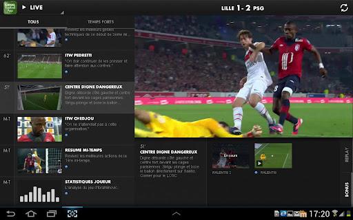 [SOFT] CANAL FOOTBALL APP : Vivez une expérience unique grâce à l'application second écran Canal Football App [Gratuit] B13