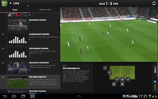 [SOFT] CANAL FOOTBALL APP : Vivez une expérience unique grâce à l'application second écran Canal Football App [Gratuit] C13
