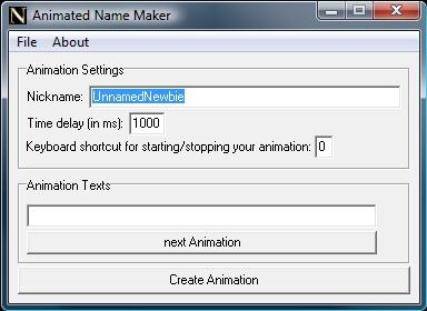 Animated Name Maker Unbena12