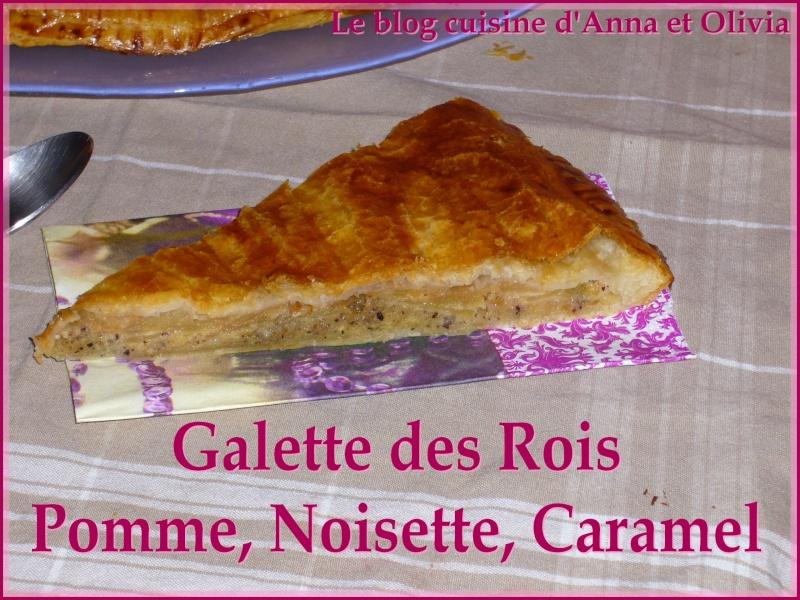 galette - Galette des rois pomme noisette caramel Galett11