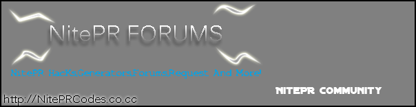 Banner For The Forum *UPDATED NEW Nitepr11