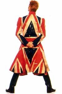 What's your favourite Bowie persona. 03190010