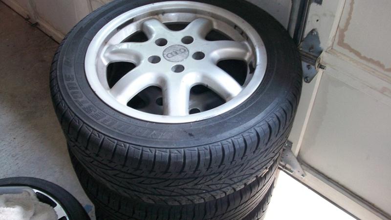 "Stock Audi A4 B5 16""  Wheels  40 MM offset Tires10"