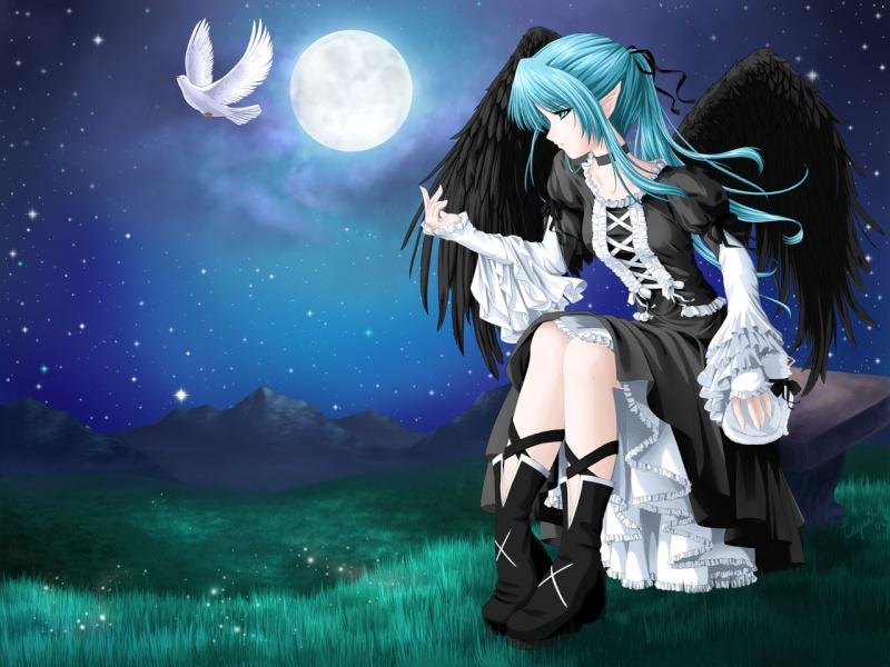 Erina Andervan, démon dont la vie a brusquement changé Erina10