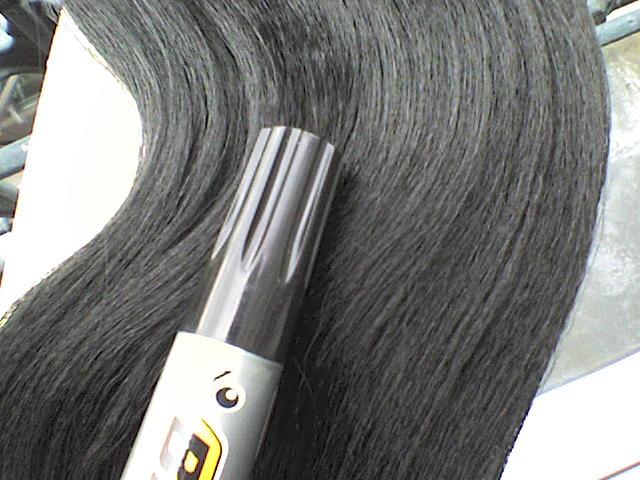 Echange 7 paquets PONY noir ( lisse )... Dsc00011