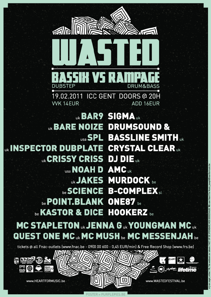 2011.02.19 - Wasted (BASSIX vs RAMPAGE) (GHENT, BELGIUM) Viewer10