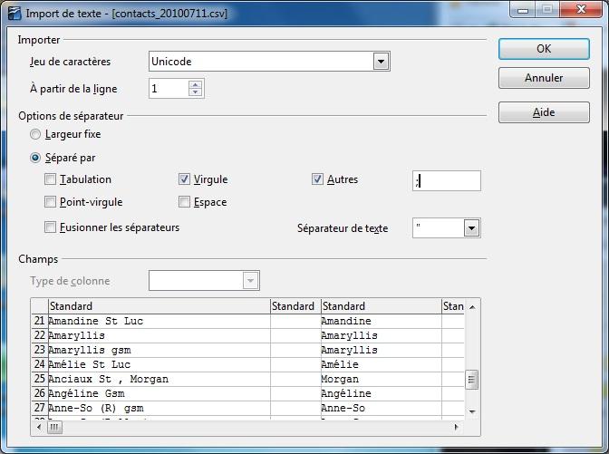 [AIDE] Recuperer ses données HTC HD2 sur son ordinateur (sms, contacts,...) Import11