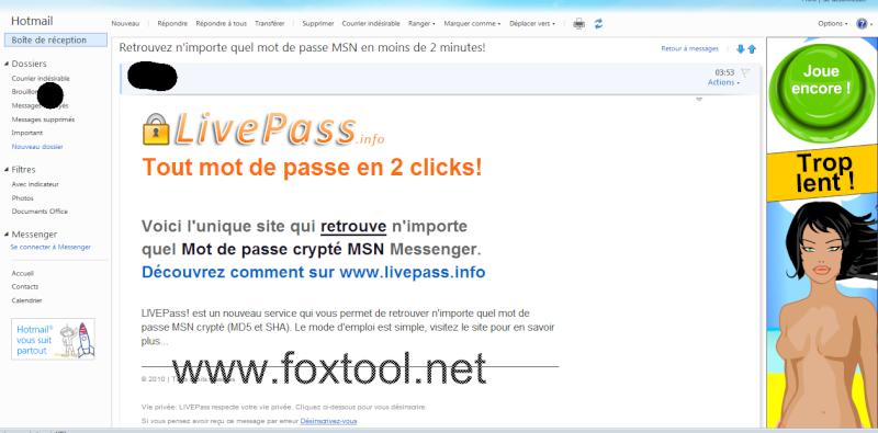 Vigilande, logiciel dangereux cicrulant sur internet Live_p10