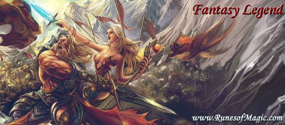 La guilde Fantasy Legend du jeu Runes of Magic