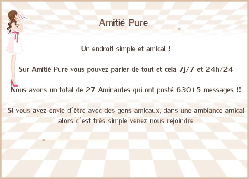 Forum Amitié Pure Public11