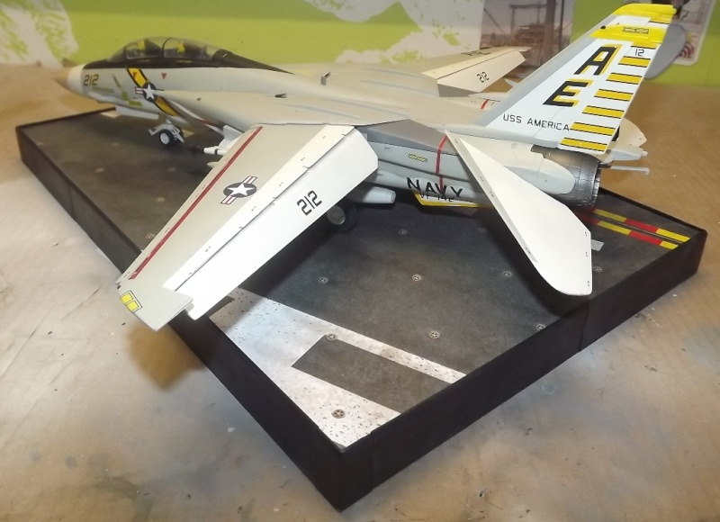 montage F-14 A Academy et hasegawa F-14_510