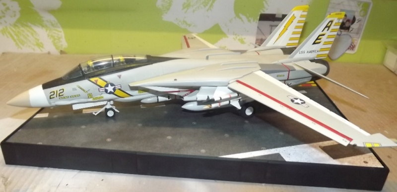montage F-14 A Academy et hasegawa F-14_610