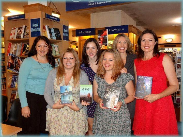 Rencontre-dédicace avec Amy Plum, Tessa Gratton, Tara Hudson, Josephine Angelini et Anna Carey Auteur10