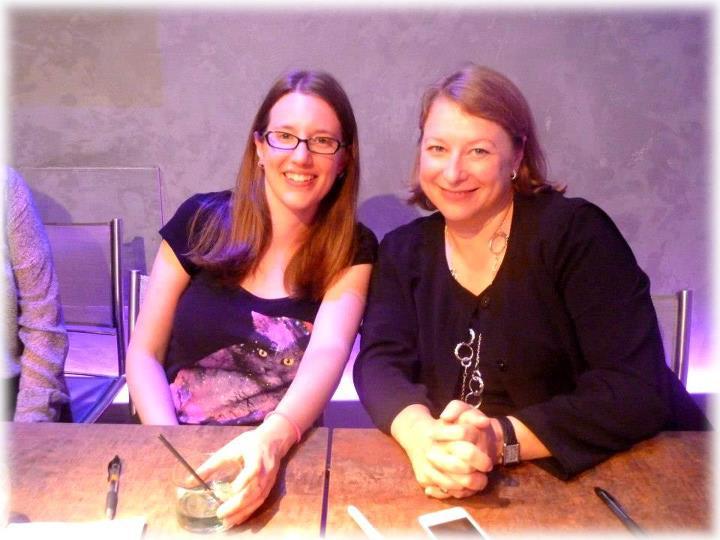Rencontre avec Deborah HARKNESS et Kristin CASHORE - Paris 14 septembre 2012 Cashor10