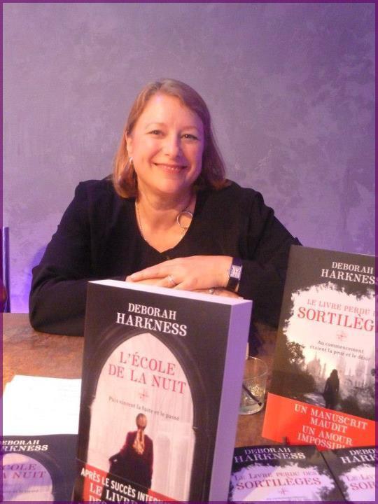 Rencontre avec Deborah HARKNESS et Kristin CASHORE - Paris 14 septembre 2012 Debora10