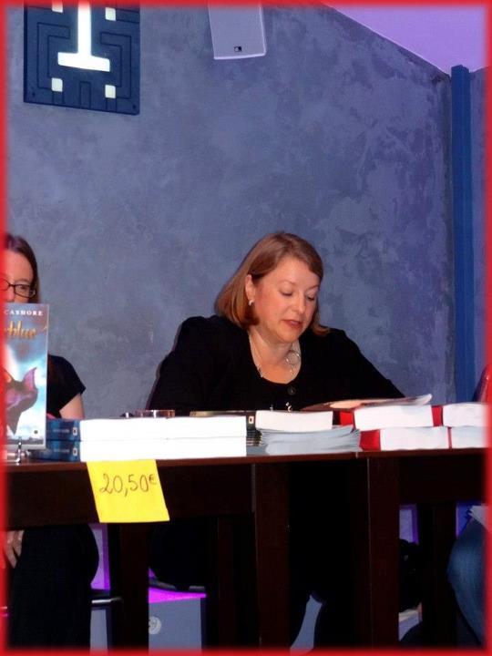 Rencontre avec Deborah HARKNESS et Kristin CASHORE - Paris 14 septembre 2012 Lectur10