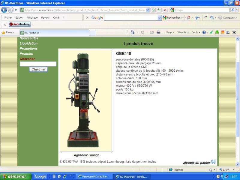 Perceuse RC machines Rc_gbb11