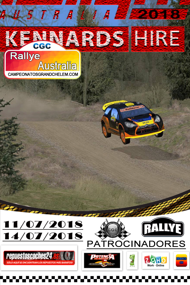 ▄▀▄ Roadbook confirmación pilotos del rally Australia  11 y 14/07/2018 ▄▀▄  Logg_r10