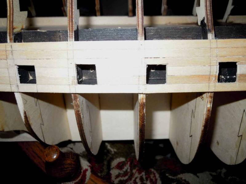 Nikolaus' Baubericht der HMS VICTORY Dscn1520