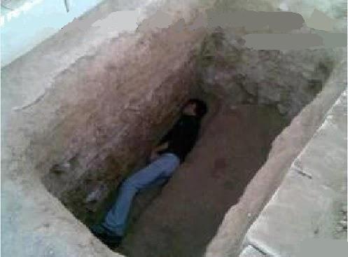 نصف ساعة قضاها بين أهل القبور  26193910