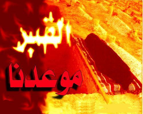نصف ساعة قضاها بين أهل القبور  A_107210