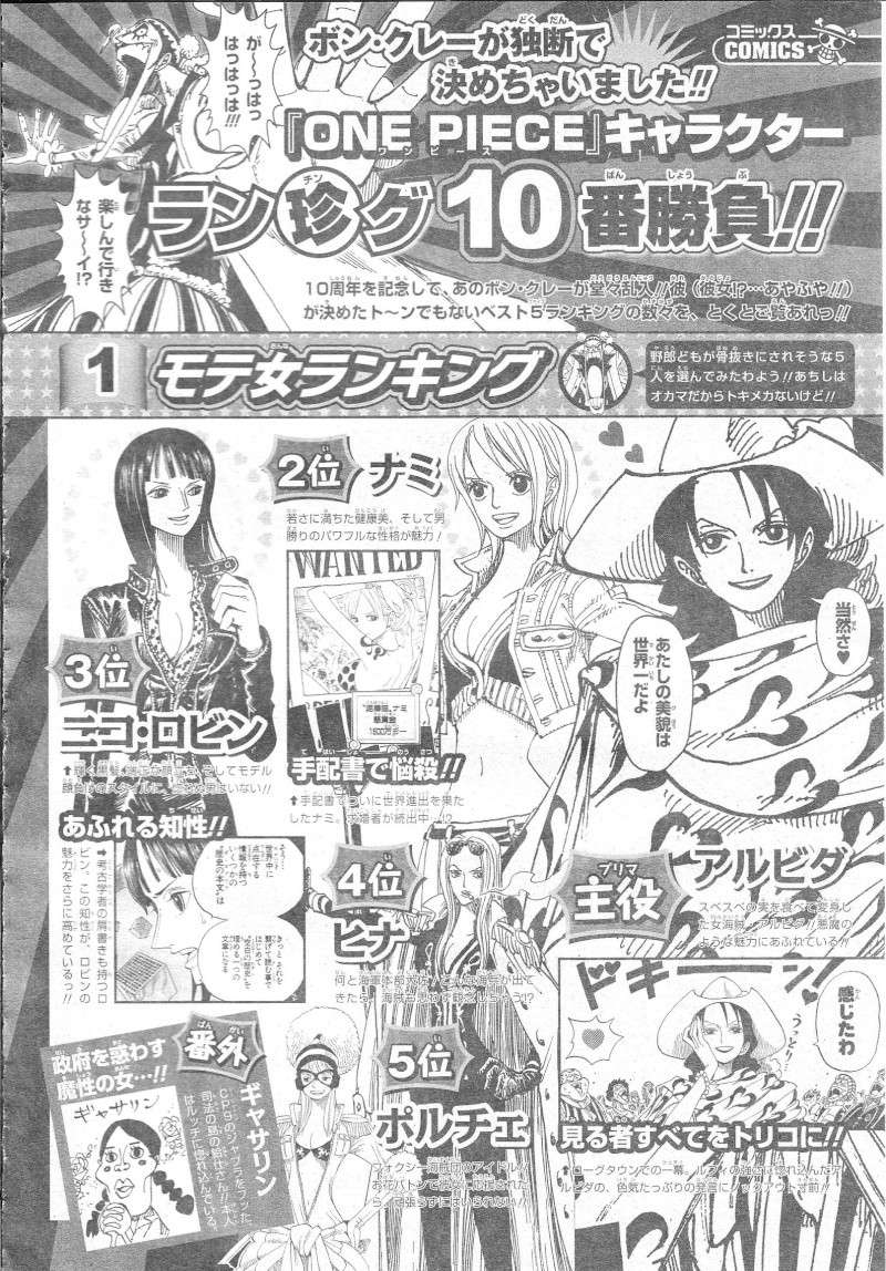 Sonderband One Piece 10th Treasures 05610