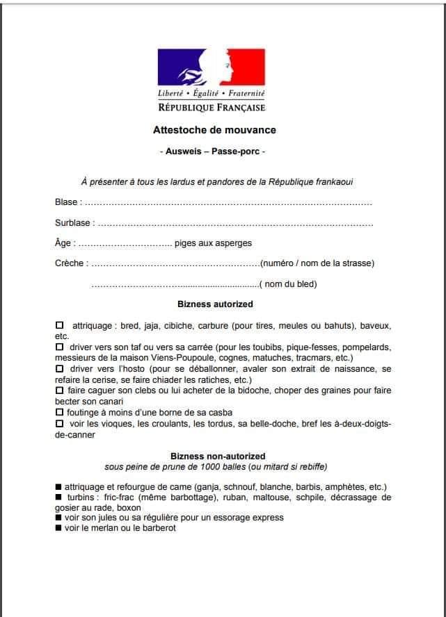 Attestation de déplacement - Page 6 Fausse10