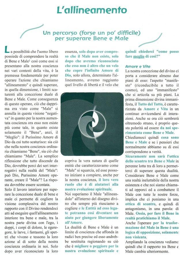 L'Allineamento -  Commento di Enzo Nastati Aa10