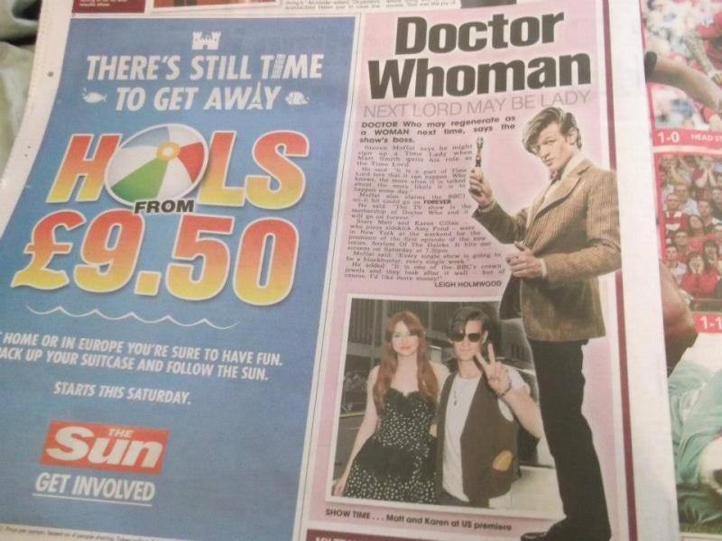 Doctor Who dans la presse  29516310