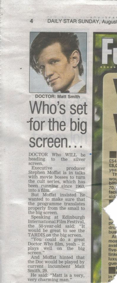 Doctor Who dans la presse  42435010