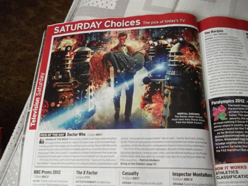 Doctor Who dans la presse  60349610