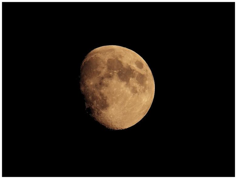 La lune hier soir Moon12