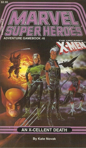 Marvel Super Heroes Adventure Gamebook 6 X-couv10