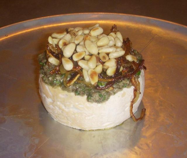Brie avec pesto et noix Photo_63