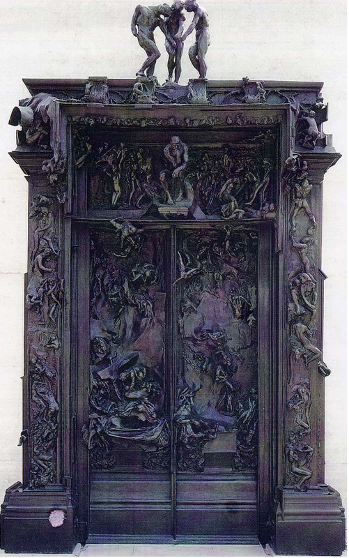 """""""La porte de l'enfer"""", d'Émile Rodin ! 37497e11"""
