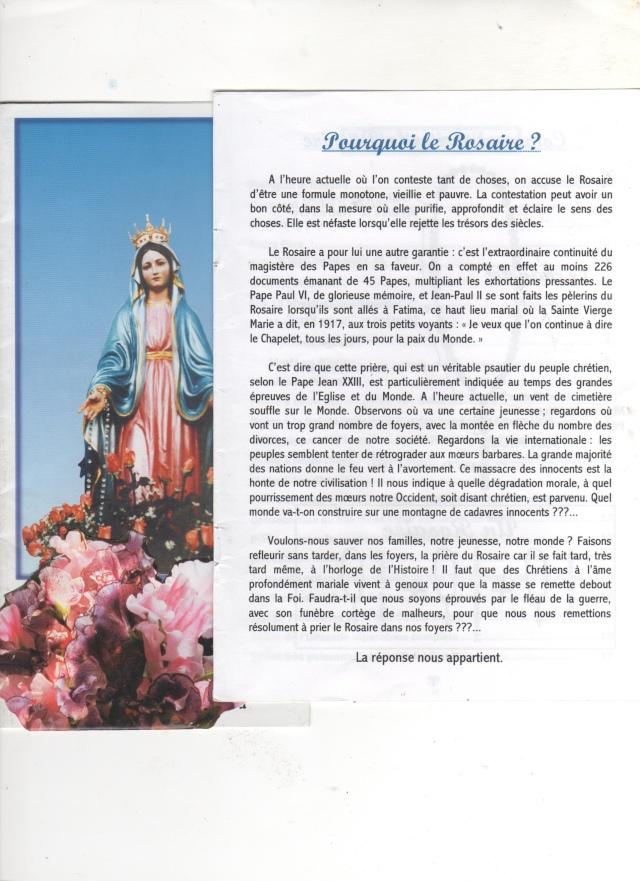 Comment et pourquoi prier le chapelet et le rosaire? Rosair10