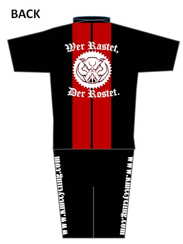KMC Cycling Jersey - Design Submissions Slide211