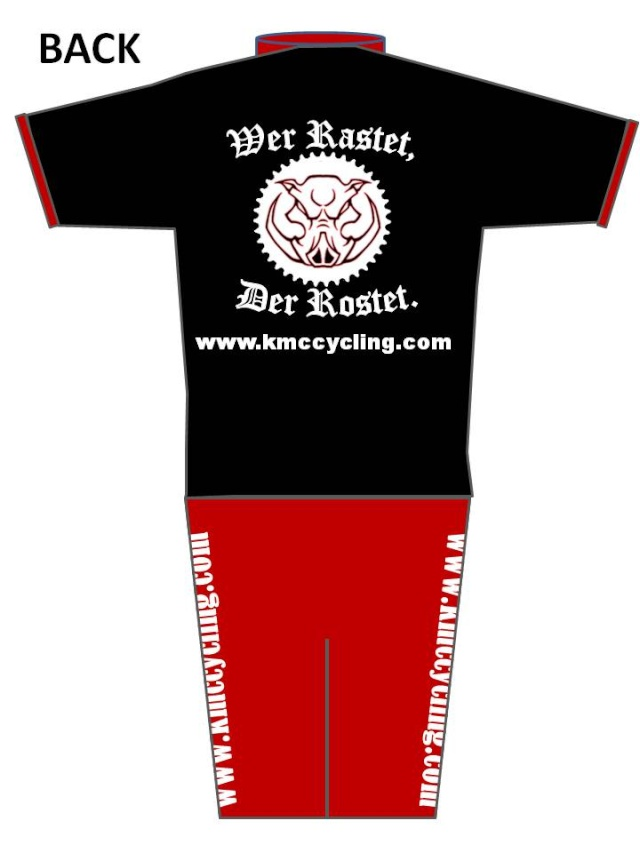 KMC Cycling Jersey - Design Submissions Slide610