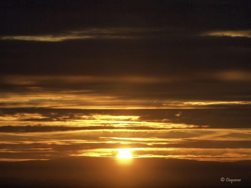 Lever de soleil sur le Morvan 02110