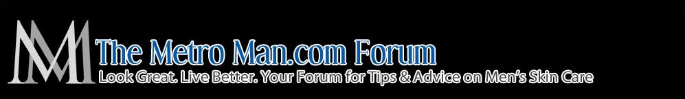 Men's Skin Care, Shaving & Grooming Forum