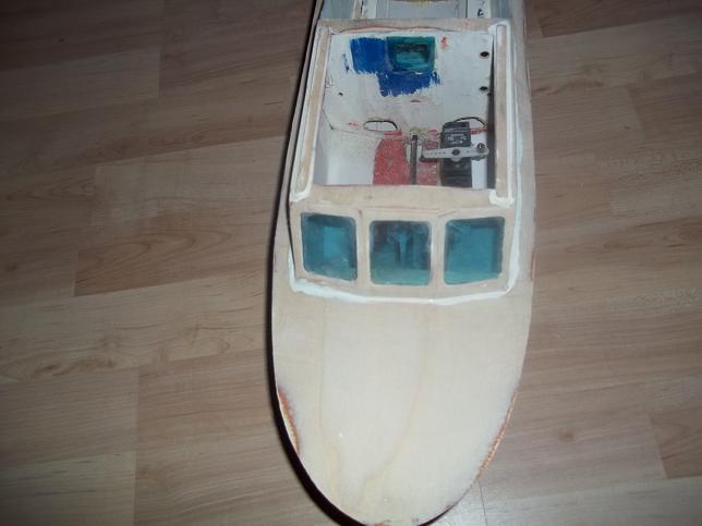 Graupner Kitty2 vom Wrack zum Sportboot.... Bild_110