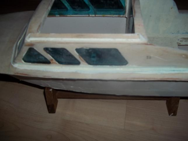 Graupner Kitty2 vom Wrack zum Sportboot.... Bild_111
